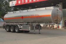 程力威11.6米32.8噸3軸鋁合金運油半掛車(CLW9403GYYALV)