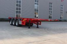 通亚达9.6米34.9吨3轴危险品罐箱骨架运输半挂车(CTY9401TWY30)