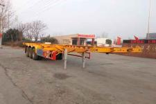 萬祥12.4米33.7吨3轴集装箱运输半挂车(HWX9401TJZG)