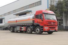 解放前四后八25吨易燃液体罐式运输车厂家直销 价格最低