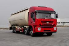 国五红岩36方粉粒物料运输车