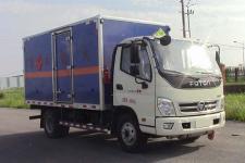 国五福田奥铃4米2易燃气体厢式运输车价格  13607286060