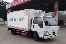 國五慶鈴五十鈴4米2單排冷藏車進口發動機