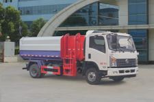 东风5方自装卸式挂桶垃圾车价格