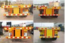 霸申特牌BST9401TJZ型集装箱运输半挂车图片