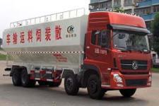 東風天龍4倉22噸(40方)散裝飼料運輸車價格