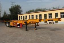恒通梁山14米34.6吨3轴集装箱运输半挂车(CBZ9402TJZ)