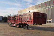 萬祥13米33.4吨3轴仓栅式运输半挂车(HWX9400CCYE)