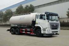 华威驰乐牌SGZ5250GGHZZ5J5型干混砂浆运输车