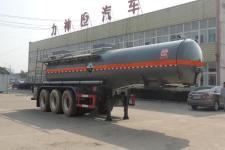 醒狮10.2米32吨3轴腐蚀性物品罐式运输半挂车(SLS9409GFWB)