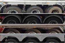 海福龙牌PC9401GYY4型铝合金运油半挂车图片