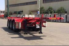 大运8.5米35吨3轴危险品罐箱骨架运输半挂车(CGC9400TWY342)