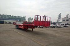梁山宇翔12米33.1吨3轴平板运输半挂车(YXM9400TPBE)