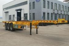 梁山宇翔14米33.6噸3軸集裝箱運輸半掛車(YXM9400TJZE)