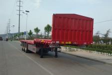 锣响12米34.3吨3轴平板运输半挂车(LXC9400TPBE)