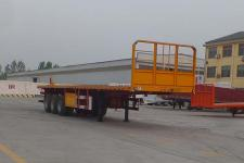 梁山宇翔12米33.1吨3轴平板运输半挂车(YXM9400TPB)