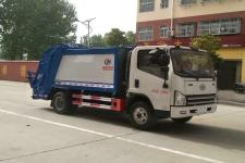 解放6方压缩式垃圾车多少钱-垃圾车厂家