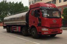 国五解放J6前四后八鲜奶运输车