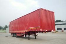 鲁际通13米32.5吨3轴厢式运输半挂车(LSJ9400XXY)