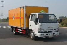 国五五十铃杂项危险物品厢式运输车