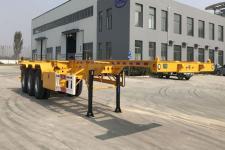 蒙凯12.4米33.6吨3轴集装箱运输半挂车(MK9400TJZ)