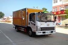 解放牌厢式危险品运输车可分期协助上户 整车配置
