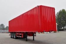 梁山宇翔12.5米30吨3轴翼开启厢式半挂车(YXM9400XYK)