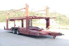 东风牌EQ9170TCLBD型中置轴车辆运输挂车图片