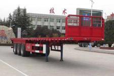 大运12.5米33.5吨3轴平板半挂车(CGC9400TPB369)