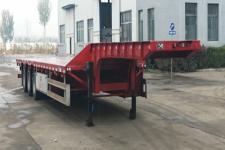 恒通梁山12.5米33.2吨3轴低平板半挂车(CBZ9400TDP)