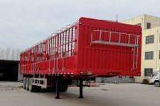 鲁际通牌LSJ9400CCYQ型仓栅式运输半挂车(轻型车、拉煤专用)