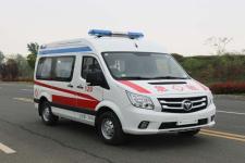 福田G7高顶运输型监护救护车厂家价格