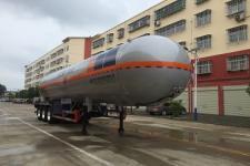 程力威11.9米28.1吨3轴液化气体运输半挂车(CLW9404GYQD)