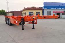 恒通梁山12.5米34.3吨3轴危险品罐箱骨架运输半挂车(CBZ9401TWYE)