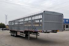 恒通梁山11米34.8吨3轴铝合金仓栅式运输半挂车(CBZ9403CCY)