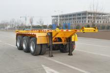 恒通梁山7.3米35吨3轴集装箱运输半挂车(CBZ9404TJZ)