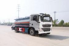 华威驰乐牌SGZ5180GFWZZ6T5型腐蚀性物品罐式运输车