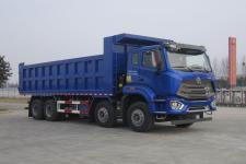 豪瀚前四后八自卸车国六299马力(ZZ3315V3566F1)