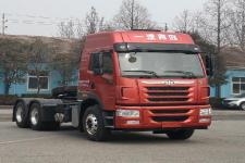解放牌CA4250P1K2T1HEVA80型混合动力牵引汽车图片