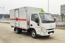 国六跃进3米4易燃气体厢式运输车厂家直销价格