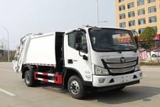 国六福田8方压缩式垃圾车
