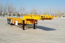 正康宏泰11米35.1吨3轴危险品罐箱骨架运输半挂车(HHT9404TWY)