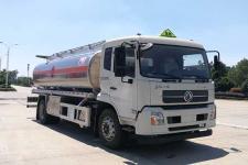 国六16方铝合金运油车|油罐车|天锦油罐车价格