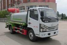 国六东风多利卡5吨多功能抑尘车价格15897598261