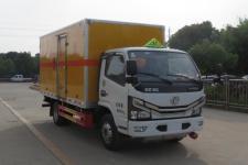 国六东风多利卡易燃气体厢式运输车