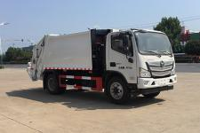 国六福田12方压缩式垃圾车