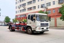 国六东风天锦车厢可卸式垃圾车厂家直销 价格最低