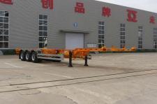 通亚达12.5米34吨3轴危险品罐箱骨架运输半挂车(CTY9401TWYE)