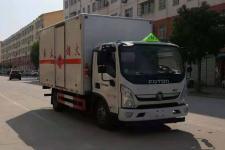 国五福田易燃液体厢式运输车价格