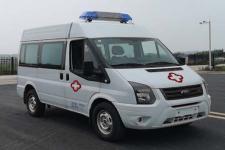 国六江铃福特长轴高顶V348救护车厂家直销